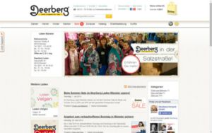 Blog of the Deerberg Stores at Münster (www.deerberg.de)